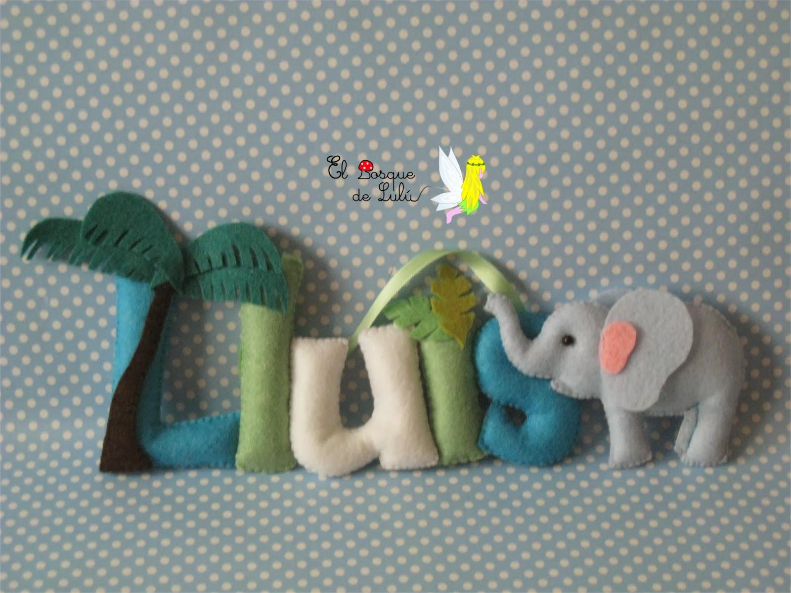 nombre-decorativo-fieltro-Lluis-infantil-regalo-nacimiento-detalle-name-banner