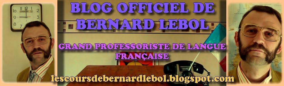 Les cours de français de Bernard Lebol
