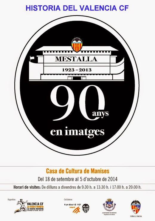 EXPOSICIÓN 90 AÑOS DEL VALENCIA CF