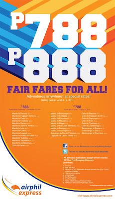 AirPhil Express Fair Fare For All