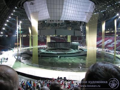 Центральная часть трибун стадиона Казань-арена