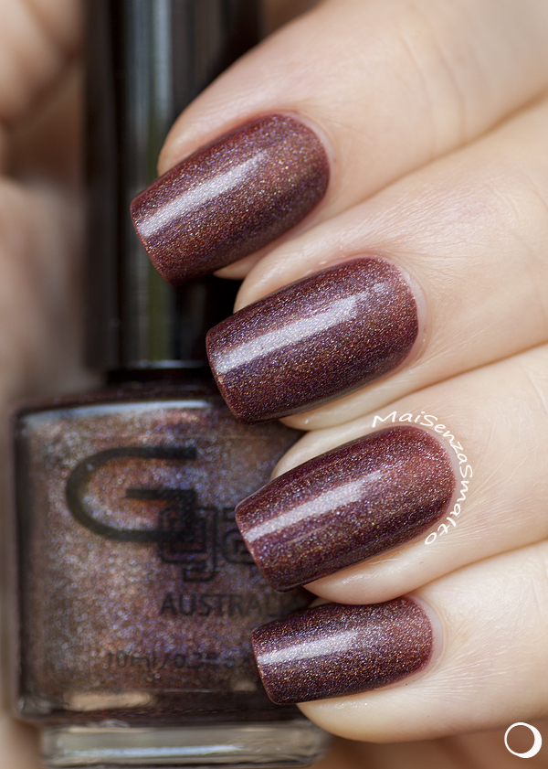 Glitter Gal Belgian Chocolate (in the shade)