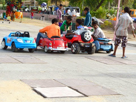 Remote Car for children at Jal Mahal