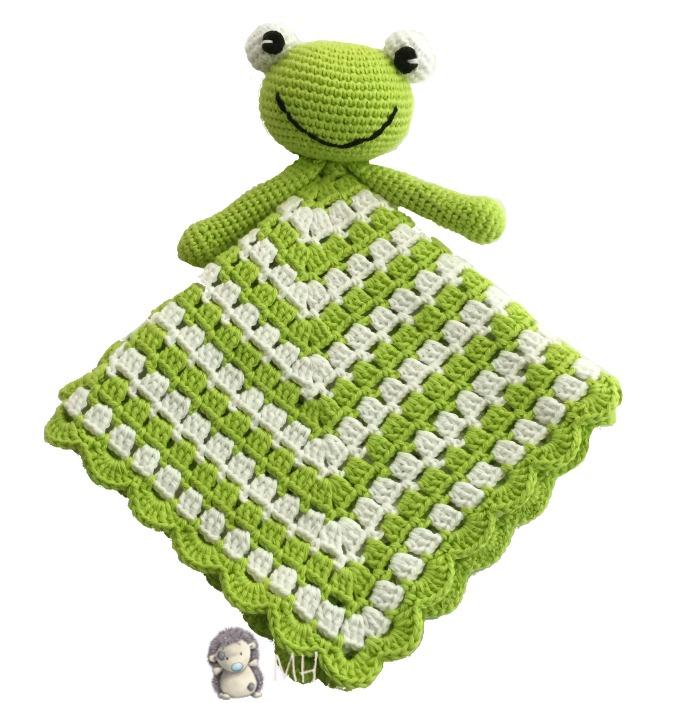 Manta de apego en crochet - Patrones de mantas a crochet ...