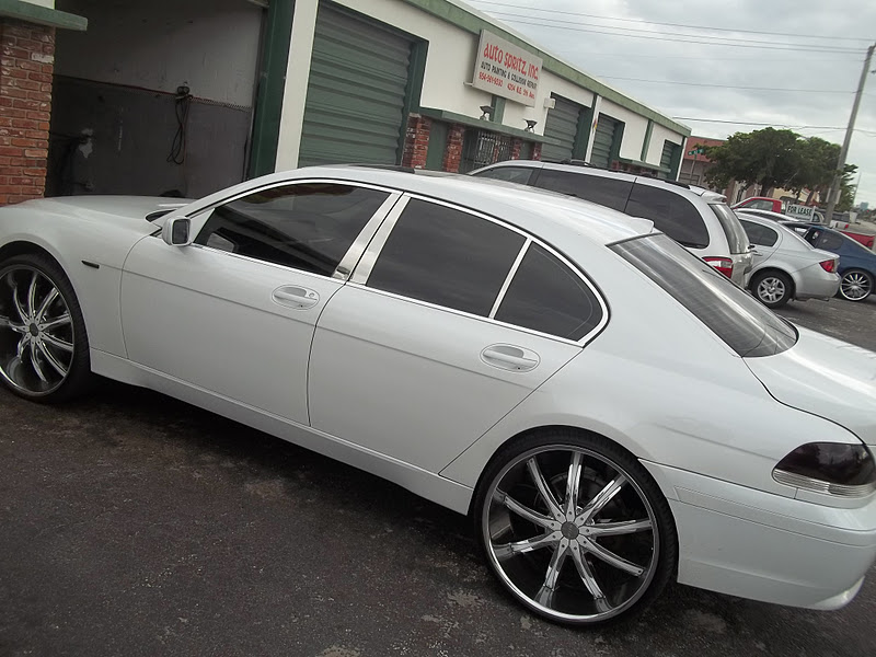 Photography By Miamiearl Bmw 7 Series On 26 Inch Rims