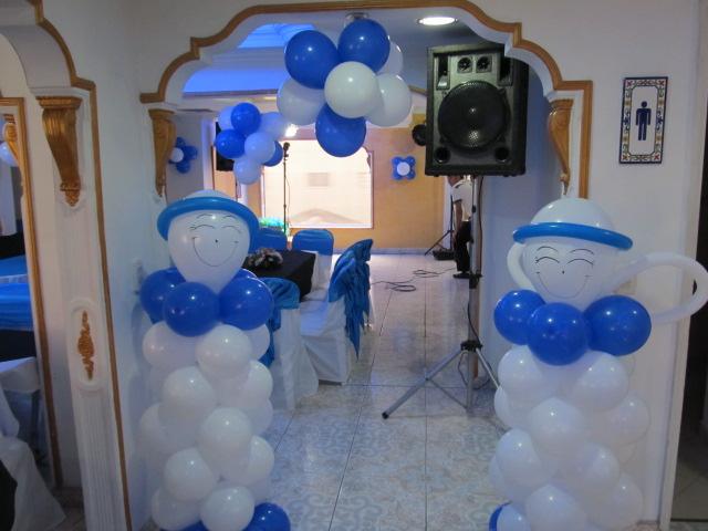 DECORACION PRIMERA COMUNION CON GLOBOS | Fiestas infantiles ...