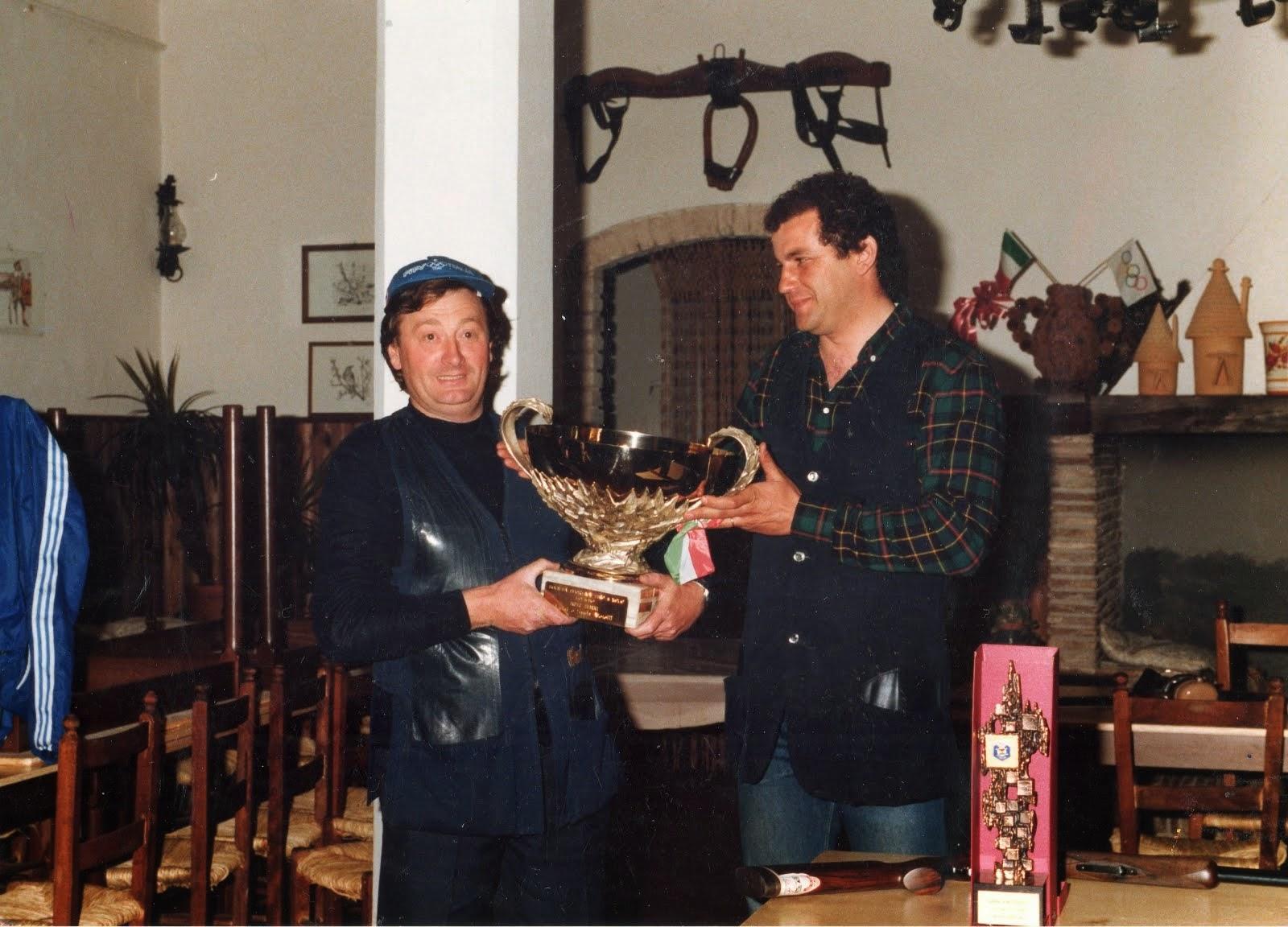 1985 - T.A.V. Foligno - Un'altra gara nazionale vinta da Bordi.