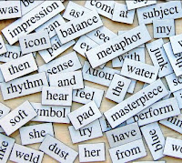 Jumble of words