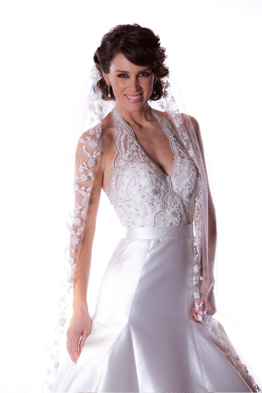 Vestido de novia zuria vega
