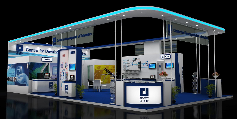 Exhibition Stand Design Decor : Custom exhibition stand design chetan d designer