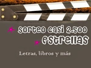 http://letraslibrosymas.blogspot.com.es/2015/01/sorteo-casi-2500-estrellas.html