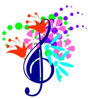 Image result for spring concert clipart