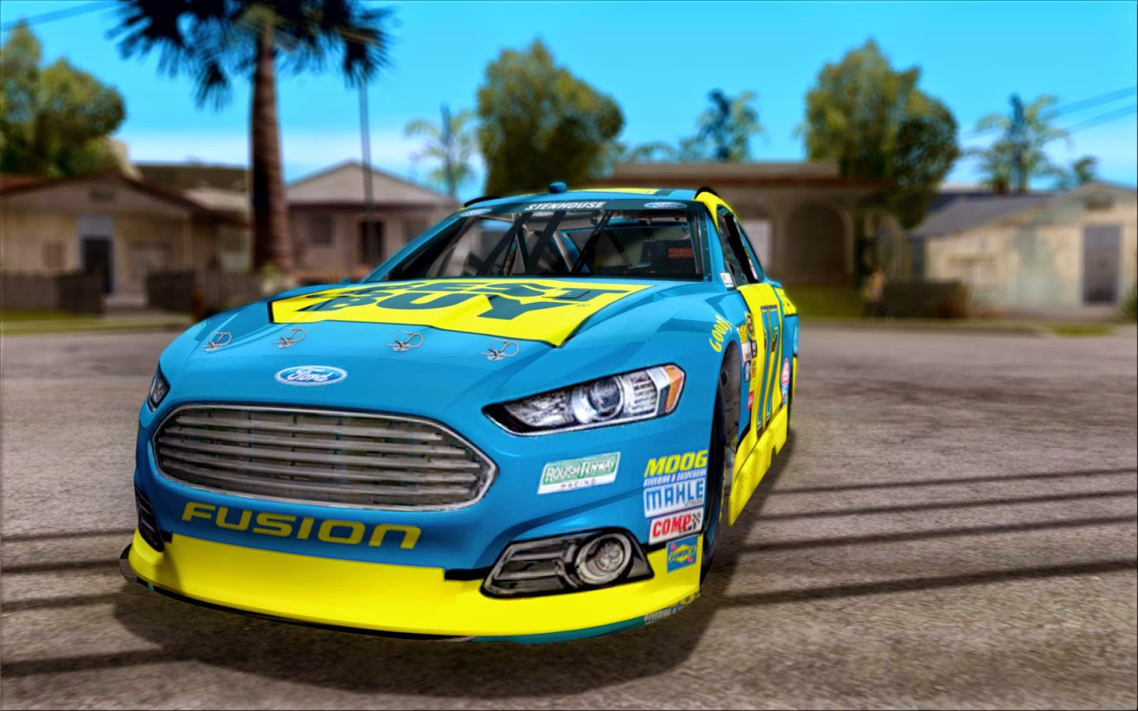 Grand Theft Auto San Andreas Nascar Rel Nascar Ford