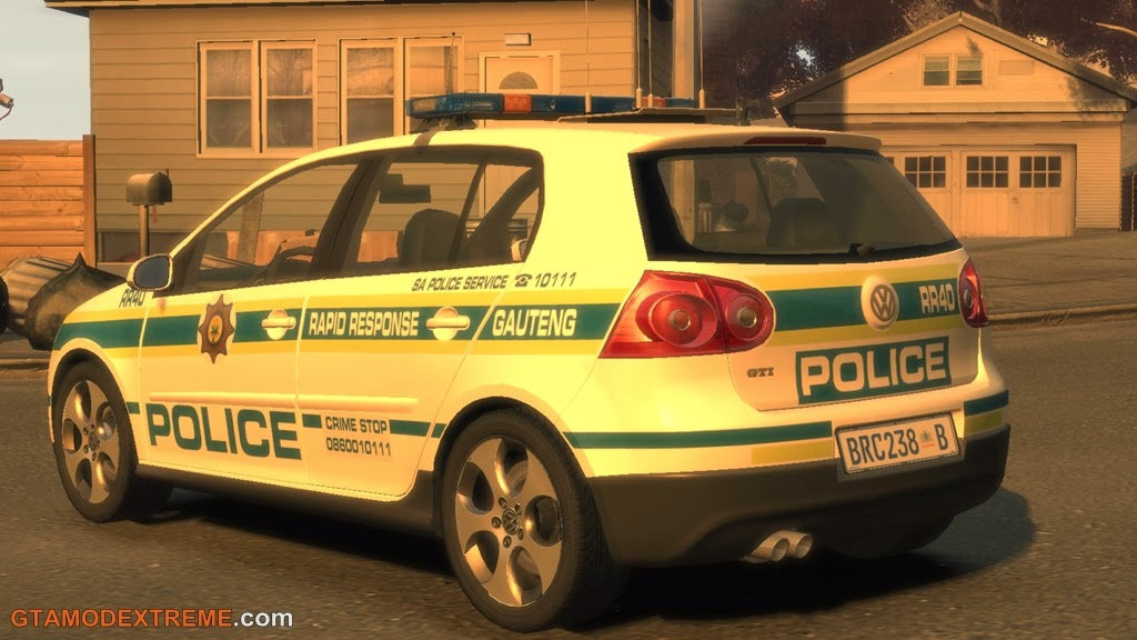 Download Carro Volkswagen Golf GTI Police GRR Para GTA IV