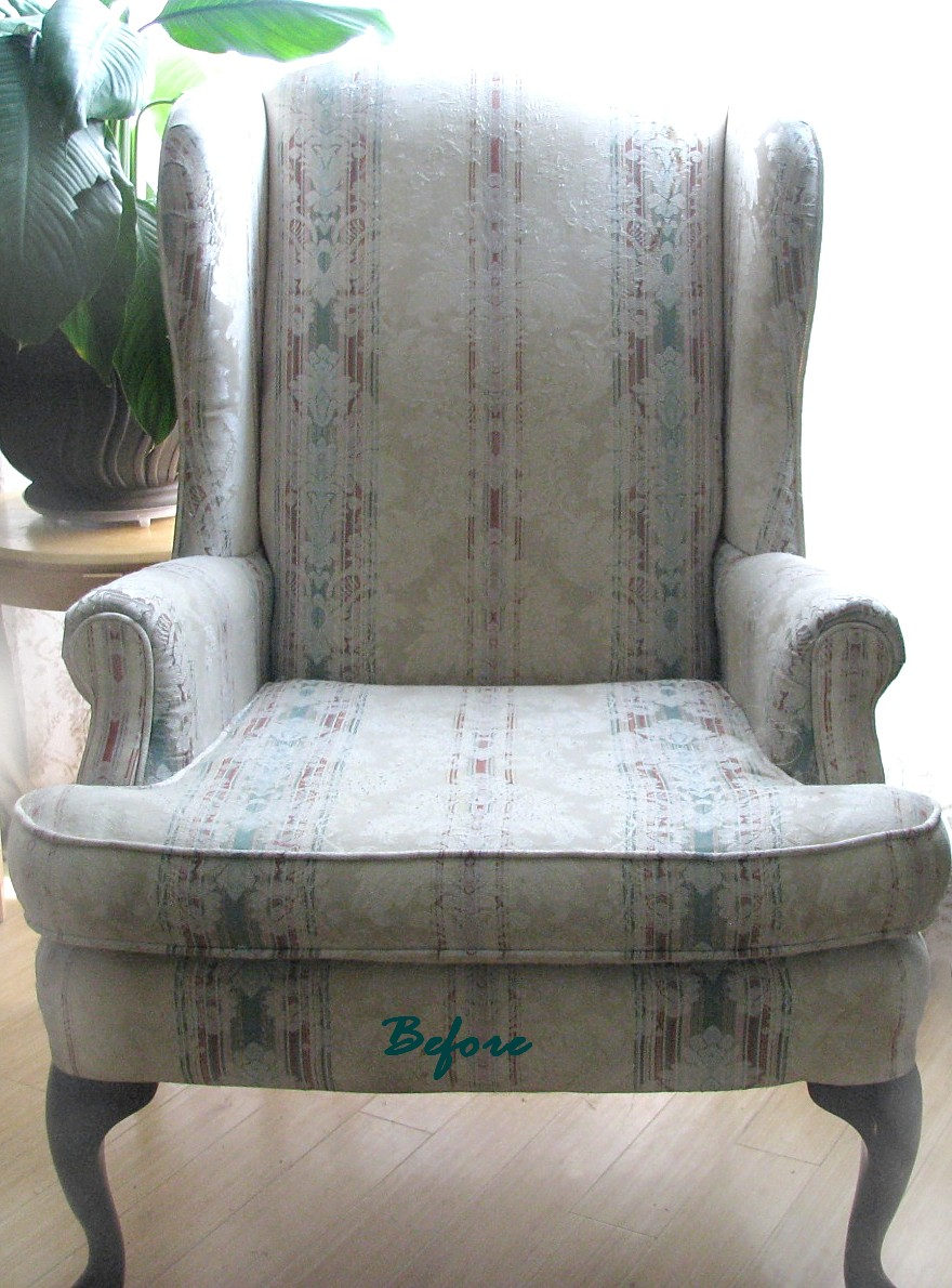Denim Slipcovers For Wingback Chairs