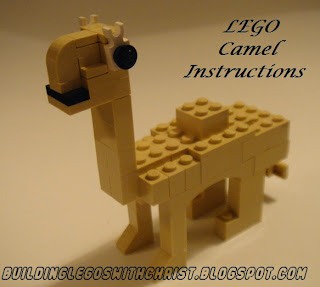 LEGO dromedary camel, Homeschooling with LEGO bricks, Saudi Arabia, LEGO instructional video