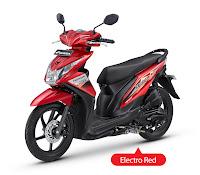 Honda BeAT FI CBS-Techno Merah