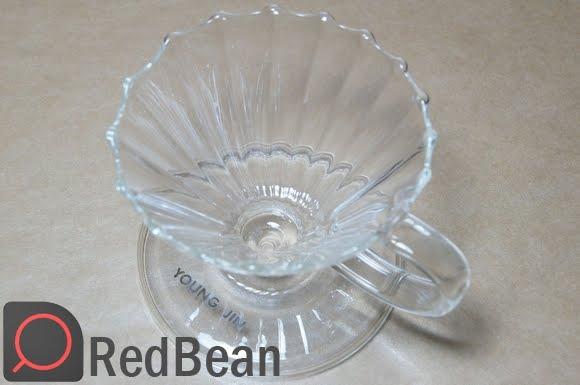 水花玻璃濾杯