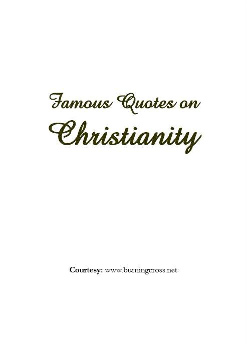 cover famous quotes christianity