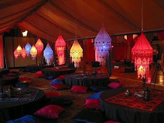 Decoracion de Fiestas Arabes, parte 1