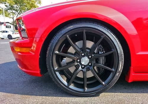 Mustang Big Wheels Mustang Wheel Clears Big