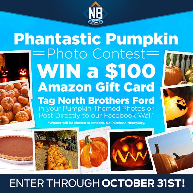 You Could Win the Phantastic Pumpkin Photo Contest at North Bros!