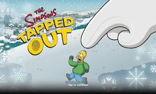 Screenshots of the The Simpsons: Tapped Out for Android tablet, phone.