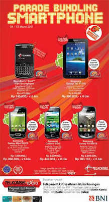 Promo With BNI Credit Card % Installment For Android and BlackBerry
