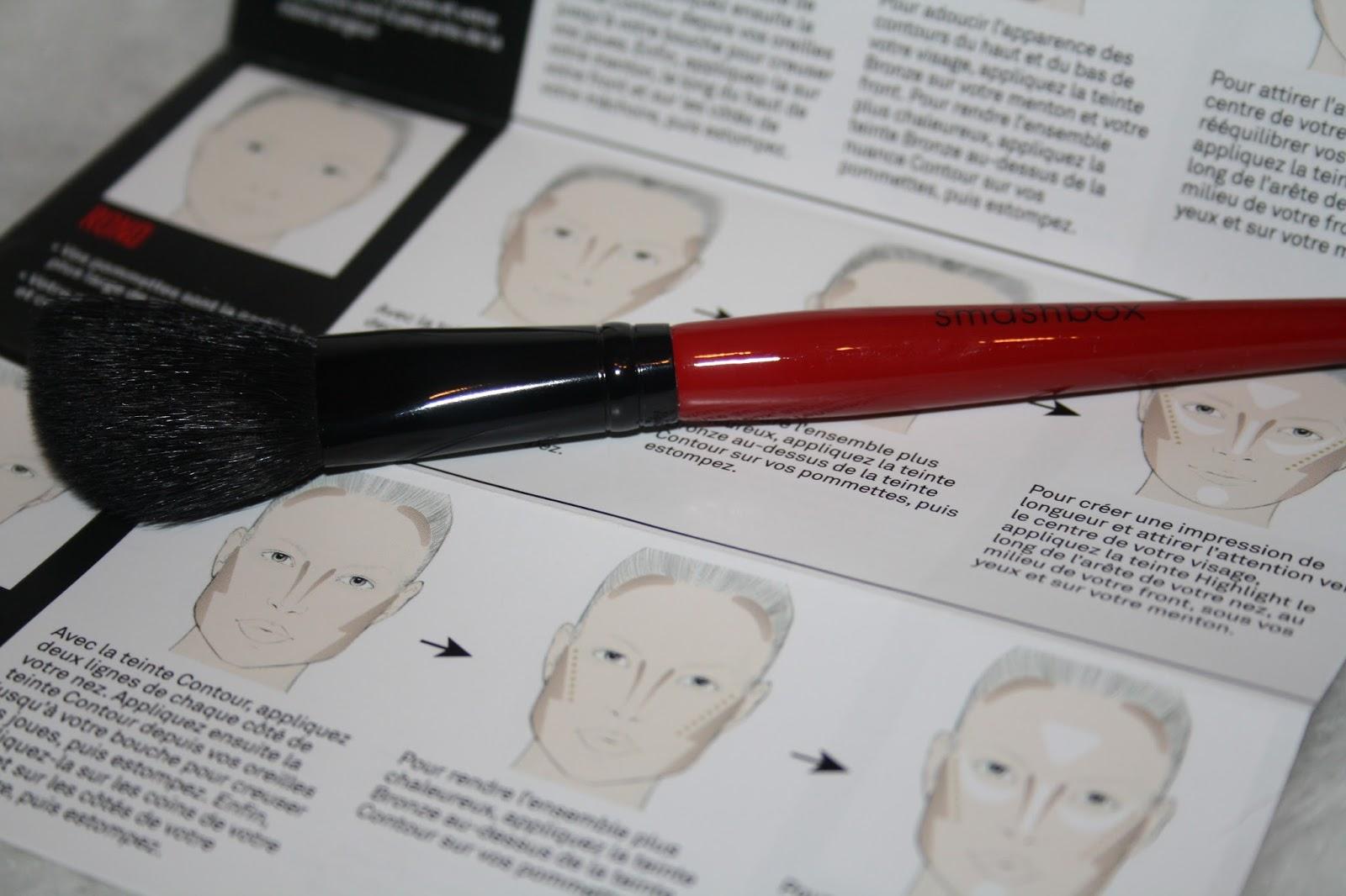 Smashbox Cosmetics Contour Palette Angled Brush