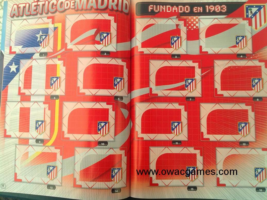 Liga ESTE 2014-15 Álbum Interior