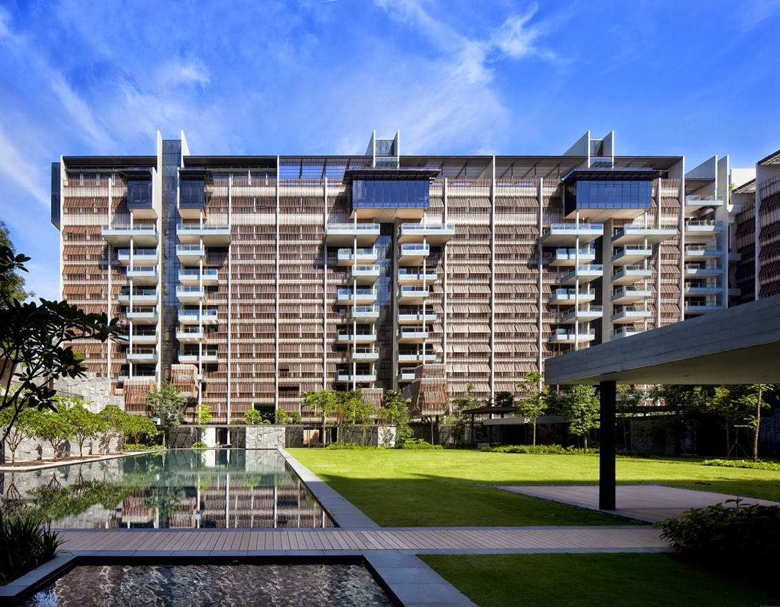 50 cool condos in singapore urban architecture now