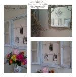 Stari drveni prozor kao dekoracija u interijeru