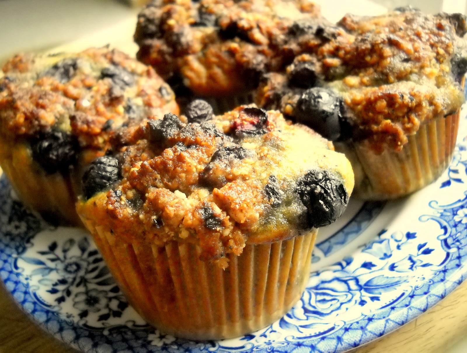 Rest co.: Blueberry Crumble Top Muffins (grain free, gluten free and ...
