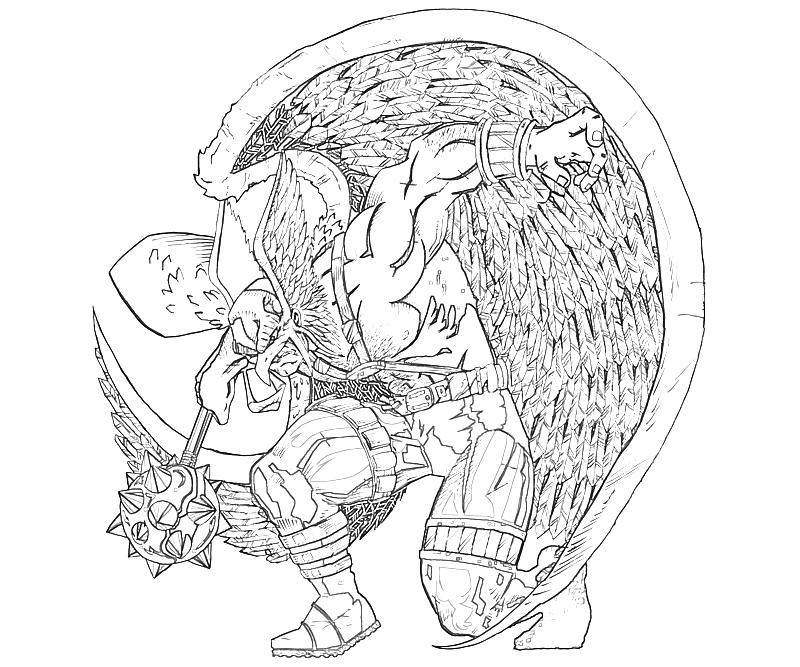hawkman coloring pages - photo#22