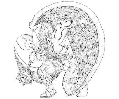 Hawkman Coloring Pages
