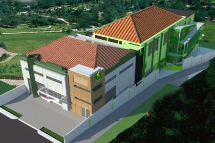 Jasa desain Apartment Exterior Gedung bangunan tinggi