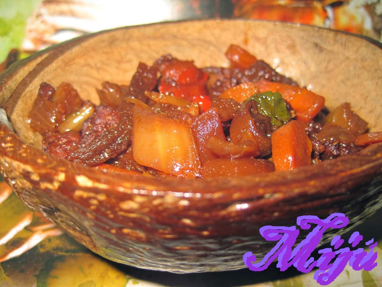 El bocado de la huerta guiso de seitan con coco for Cocinar seitan
