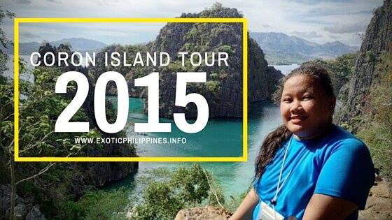 Coron Island Tour 2015 Palawan Exotic Philippines