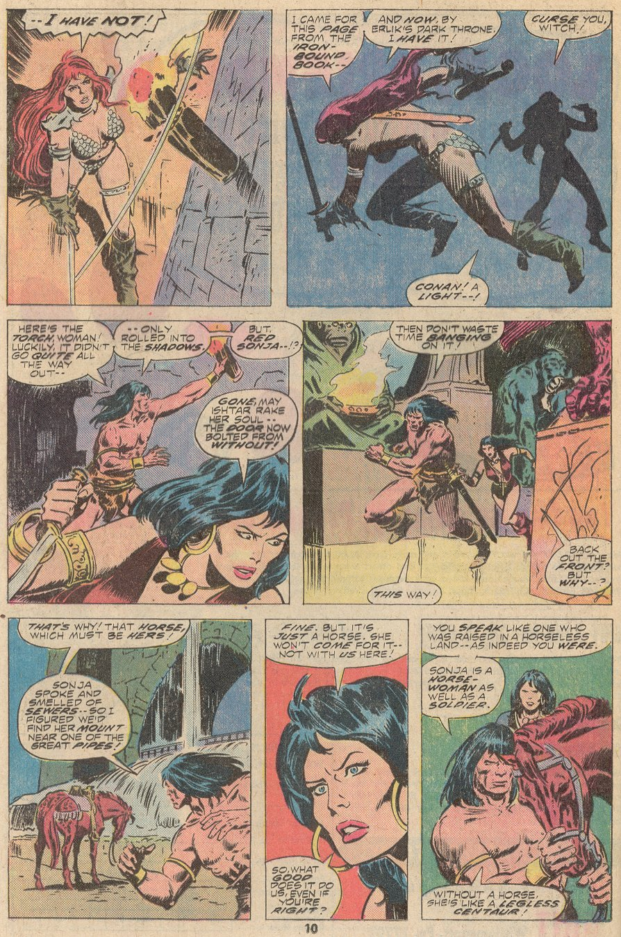 Conan the Barbarian (1970) Issue #67 #79 - English 7