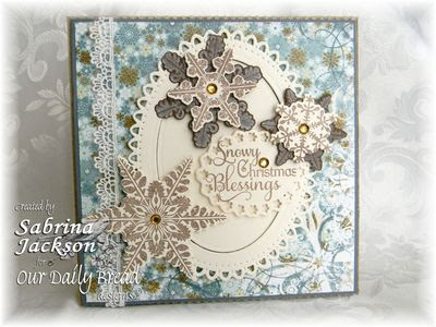 Our Daily Bread Designs Stamps - Snowflake Sentiments, Sparkling Snowflakes, Snowflakes Die