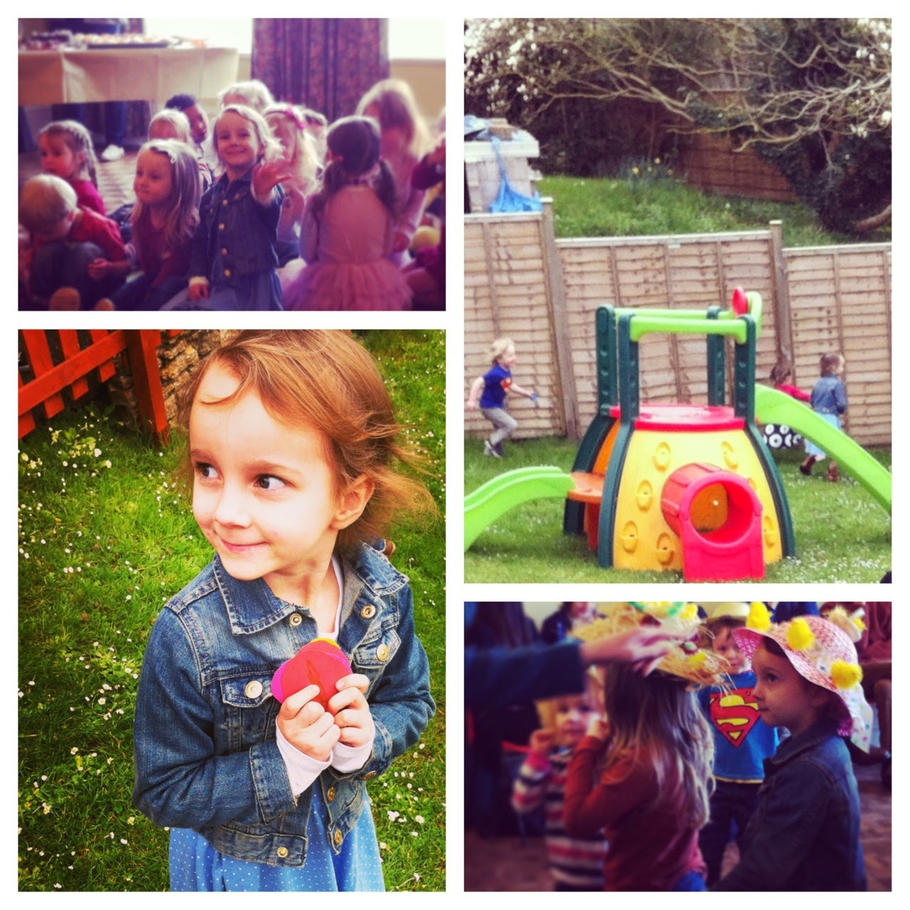 Preschool Easter celebrations