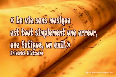 Citation sur la musique