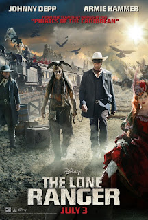 The Lone Ranger Japanese PosteR