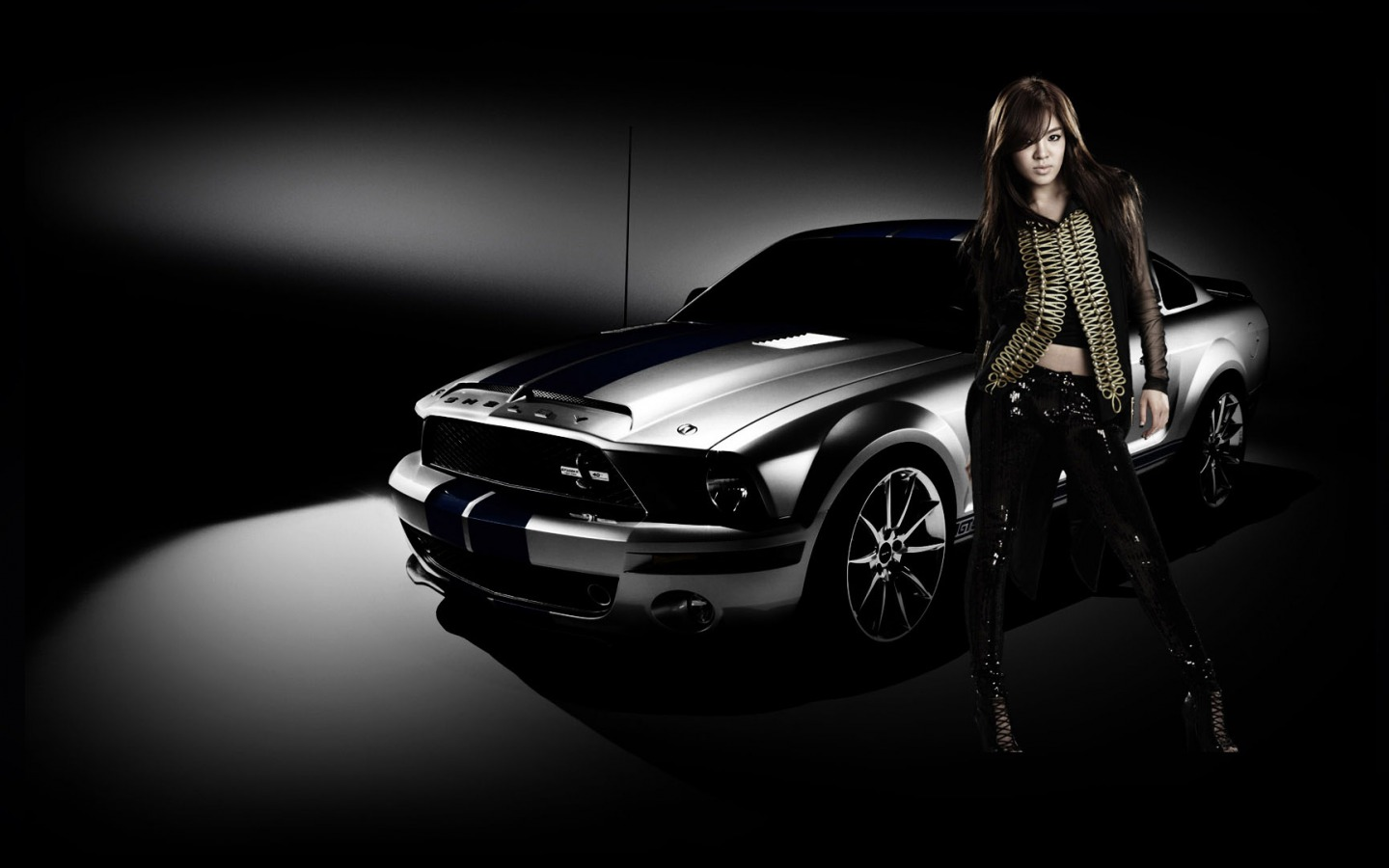 girls and tuner car - photo #37
