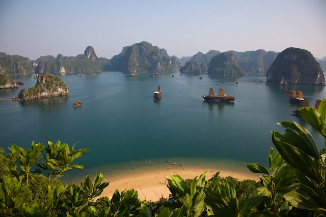 Beach in halong bay, vietnam, worlds best beaches