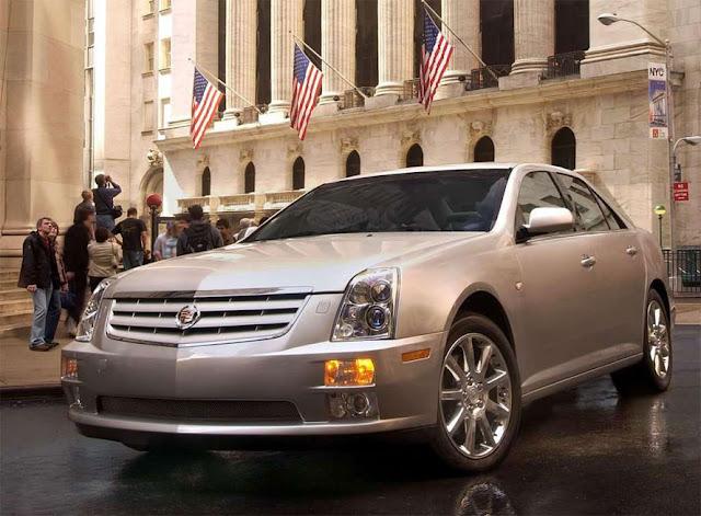 Cadillac STS | キャデラック・STS(2005-2011)