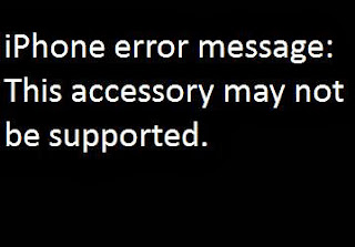 This accessory may not be supported