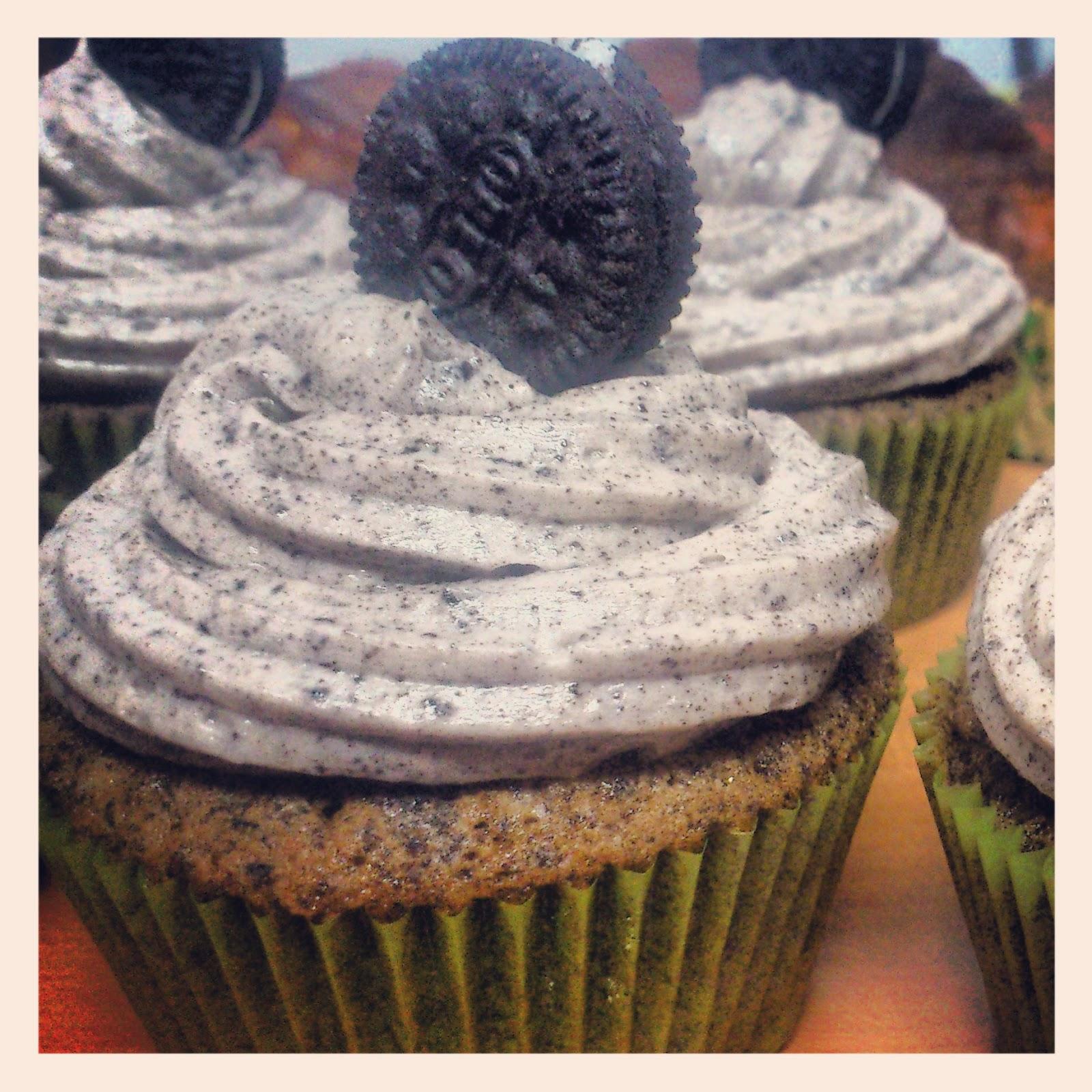 La cocina de leyre cupcakes de oreo - Cocinas leyre ...