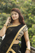 Sagarika glamorous photos in saree-thumbnail-7