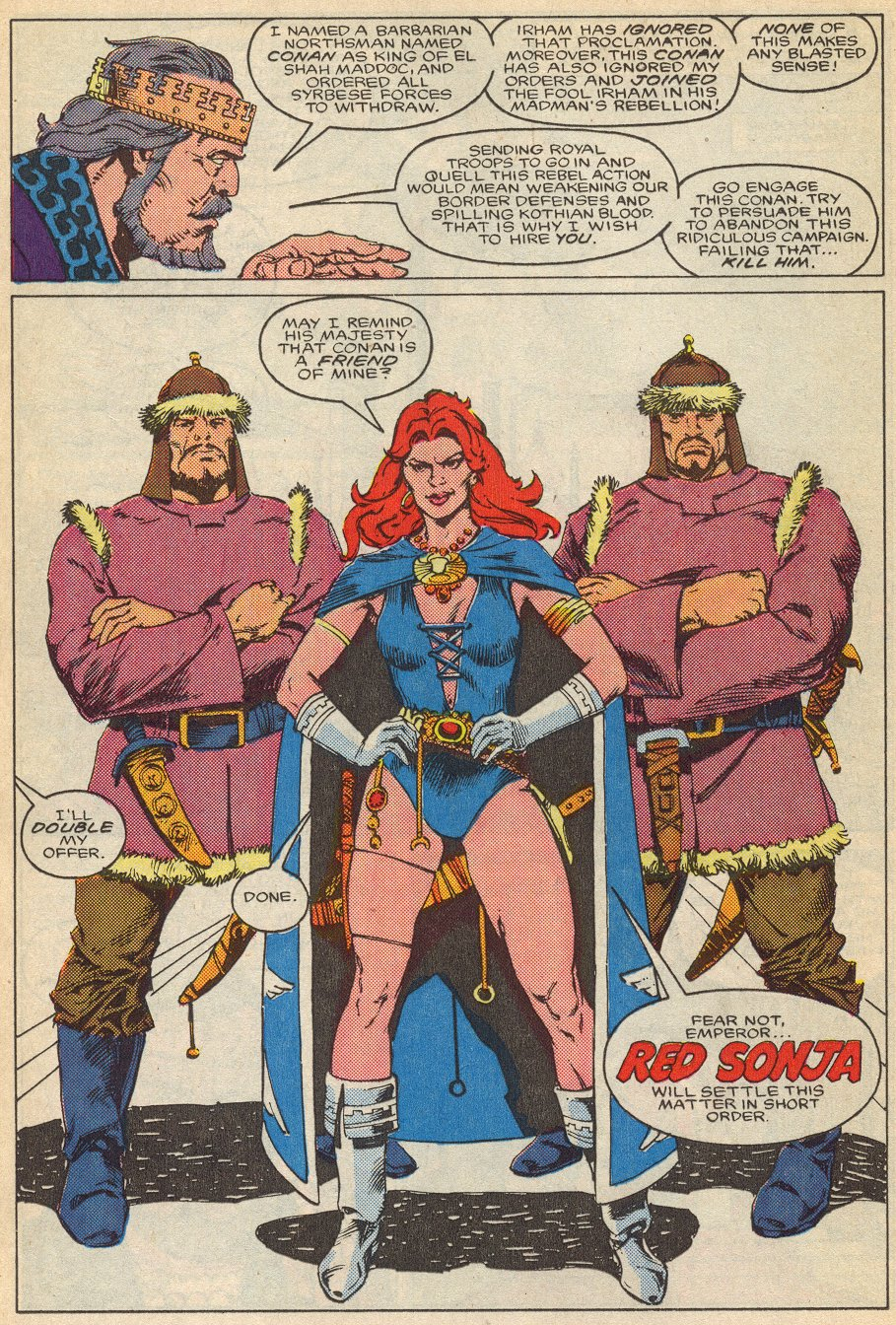 Conan the Barbarian (1970) Issue #195 #207 - English 15